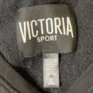 Victoria's Secret Tops - Victoria Sport Black Sweatshirt